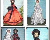 FRONTIER LADY Pattern Tonner Tyler Scarlett, Melanie, Gene