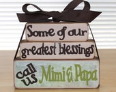 Some of Our Greatest Blessings Stackable Block Set