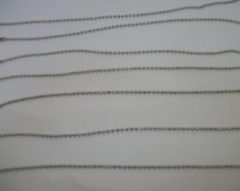 50 pcs of 12 inch pull chain for lights, ornaments, luggage tags, keys, crafts, little pictures, etc etc