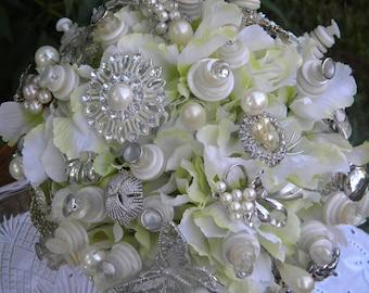 Bling Bling Wedding Bouquet--Sale
