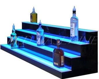 "40"" Led 4 Step Bar and Home Bottle Glorifier"