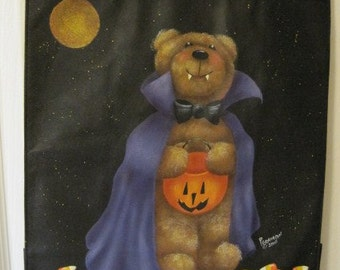 "Decorative Painting Pattern Packet ""Vincent Halloween Bear"""