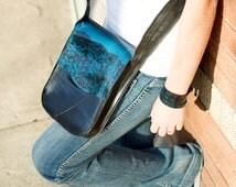 Tablet tote made from up-cycled vehicle and bicycle inner tube