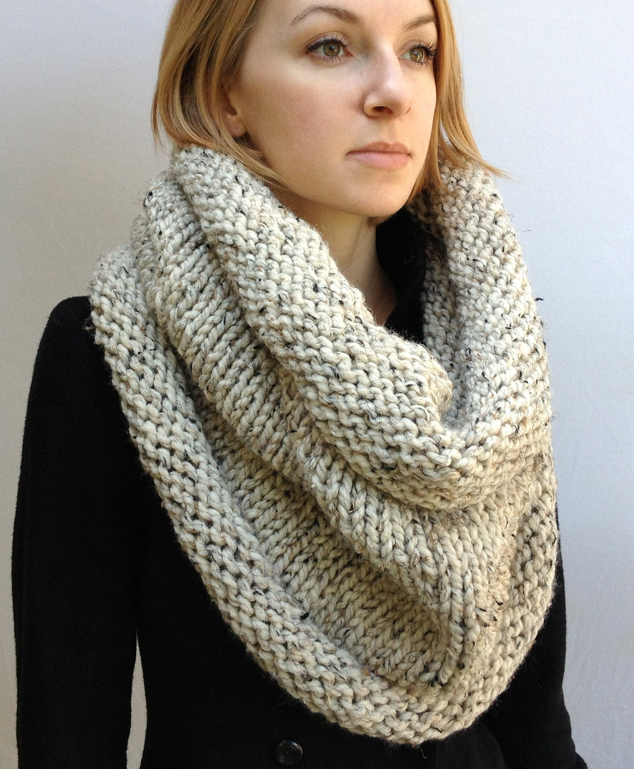Chunky Infinity Scarf Knitting Pattern : Chandeliers & Pendant Lights