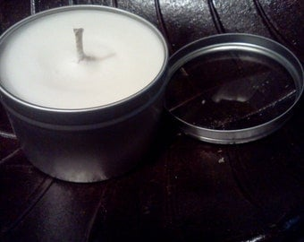 Lilac Triple Scented 8 oz Soy Tin Candles