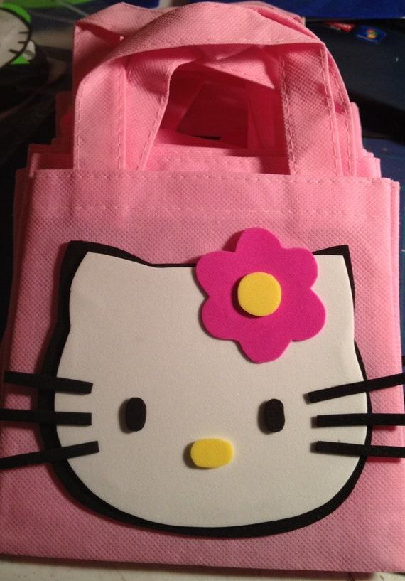 Items similar to hello kitty goodie bags on etsy