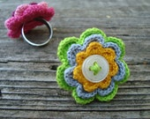 Crochet ring - FREE SHIPPING