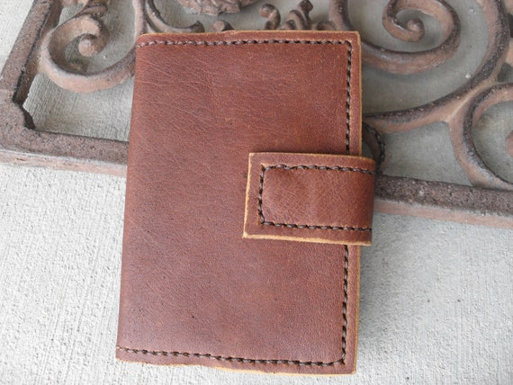 Small Refillable Leather Journal