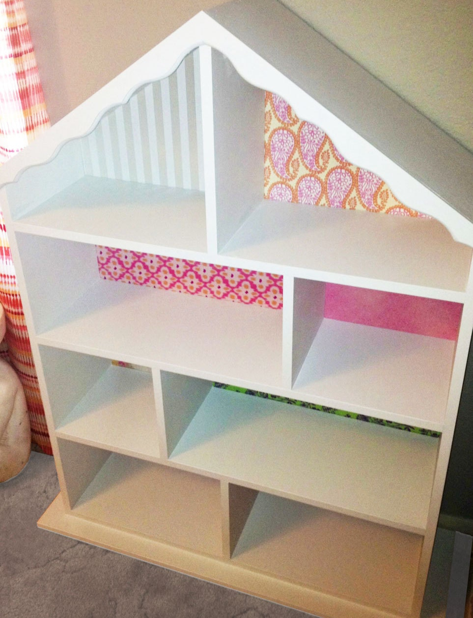 Kids Dollhouse Bookcase by UtiqueBoutique on Etsy