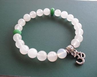 Om (meditation) bracelet