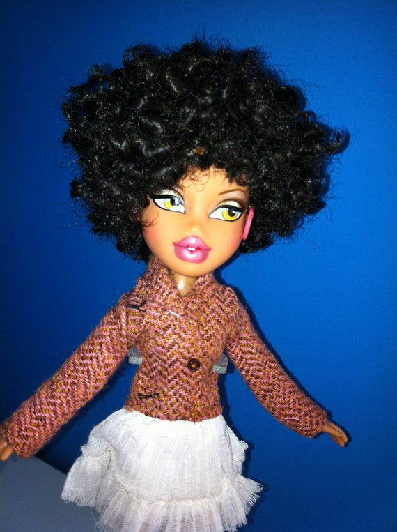 Natural Hair Styled Bratz Doll African American