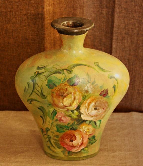 Heart Floral Vase