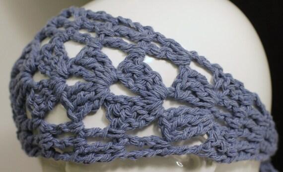 Cotton Hair Wrap | Crochet Boho Style Hair Band | Dreads Wrap | Yoga Hair Band | Exercise Hair Accessory | Summer Hair Accessories | Bunwrap