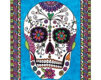 Sugar Skull, Dios de los Muertos Number 3