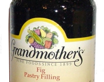 Grandmother's Fig Pastry and Pie Filling two jars