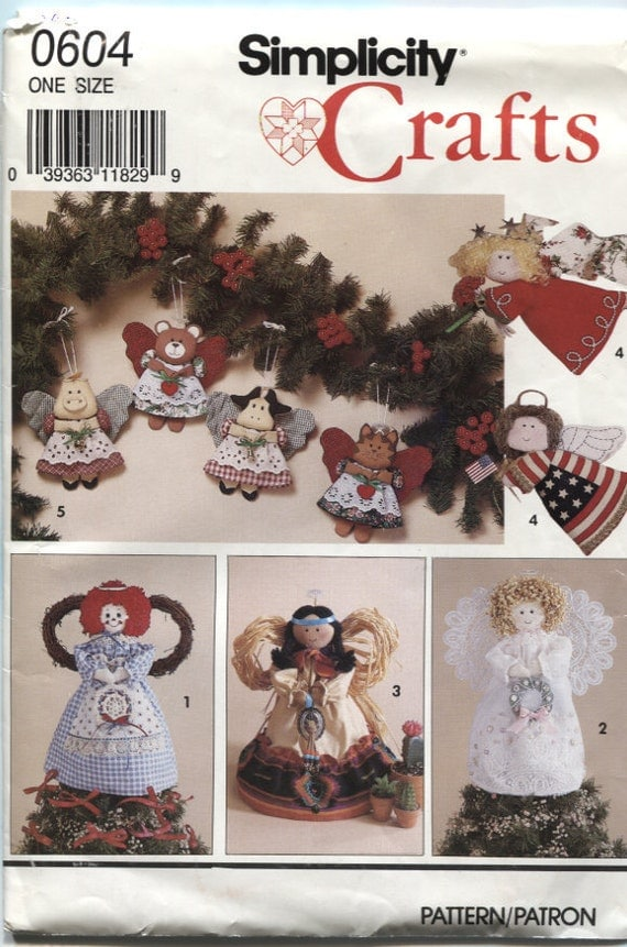 Simplicity 0604 Christmas Home Decor Sewing Pattern