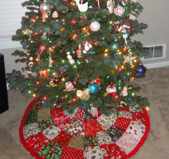 Etsy Christmas Tree Skirt