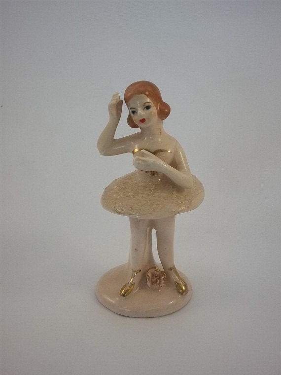 Vintage Ballerina Figurine Collectible China By