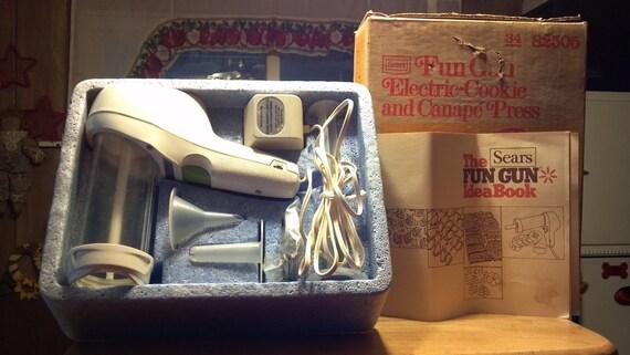 Sears Fun Gun Electric Cookie Amp Canape Press Recipe Booklet In