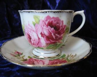 Victorian Era Tea Cup & Saucer