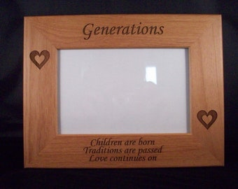 5 x 7 Generations picture frame