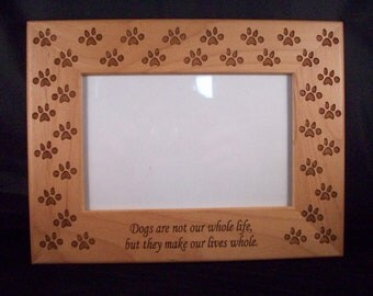 4 x 6 Dog picture frame