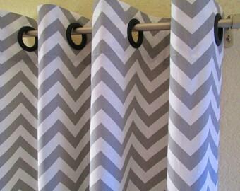 Curtains Ideas chevron curtains grey : Chevron curtains | Etsy