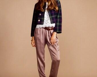 Scottish Plaid jacket