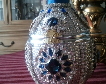 Faberge-Styled Ostrich Egg Purse/Ornament