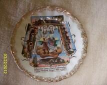1905 Lewis & Clark Centennial Exposition Souvenior Plate