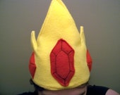 Plush Ice King Crown hat