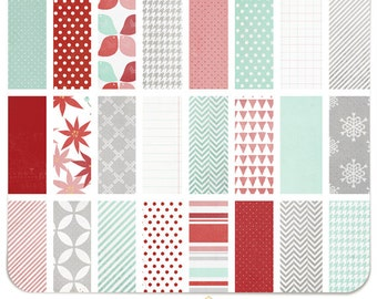 Merry | Hello December Collection Digital Paper Pack