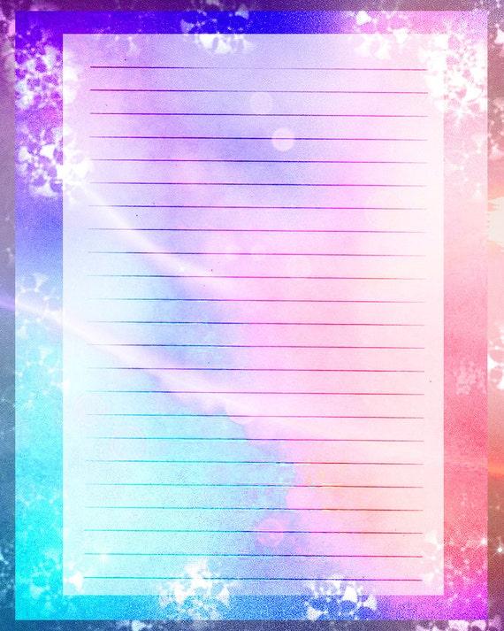 ... Digital Stationery, Digital Writing Paper Lined Paper, Scrapbook Paper