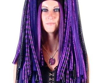 Pandora's Lox Cyberlox Falls with Rexlace (Crin, Hair, Dreads, Wig, Cyber, Goth)
