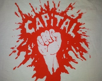 CAPITAL fist May 68 t-shirt