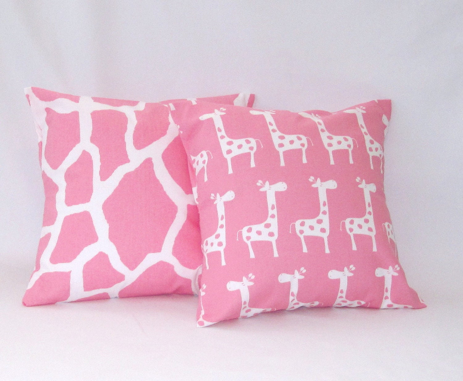 Decorative Pillows For Crib : Pillow CoversPillows Baby Nursery Baby Girl Pink by PillowsByJanet