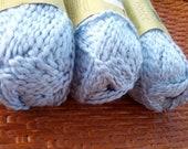"Organic Cotton Yarn- Nature's Choice ""Blueberry"" - 3 Balls"