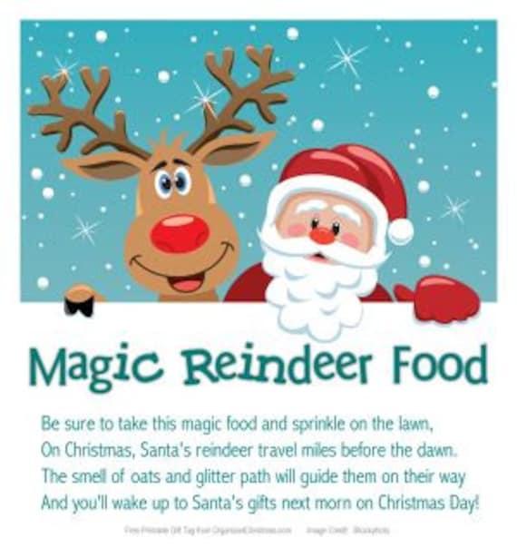 Items Similar To Magic Reindeer Food