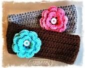 Custom Crochet Ear Warmer Any Size Any Color