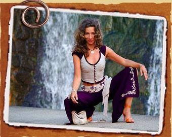Silk Abhaya Trouers