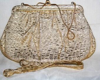 Elegant vintage GOLD BAG