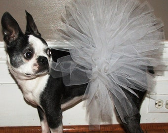Angel White Dog Tutu