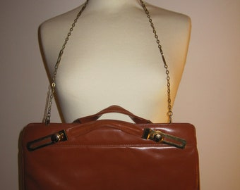 Brown Leather Vintage Bag