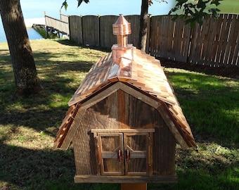 Rustic Barn Bird House