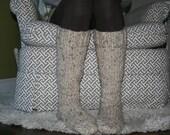 Tall Women's Cottage Slipper Socks
