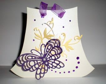Bag Cream Butterfly