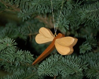 DRAGONFLY CHRISTMAS ORNAMENT Carving