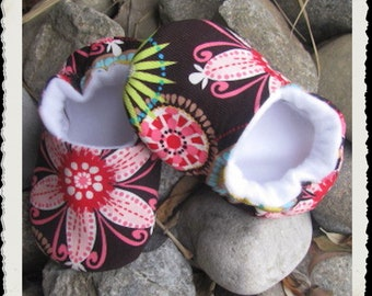 Baby Shoes Toddler Slippers Carnival Bloom Soft Sole Crib Shoes