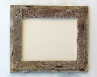8X10 Picture  Flat Wood Crab Trap Picture Frame Classic Design