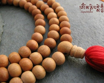 Sandalwood Japa Mala 108 beads mala purified & blessed
